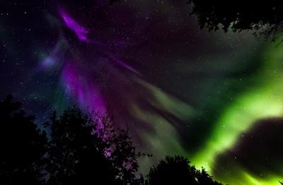 Auroras on their way
