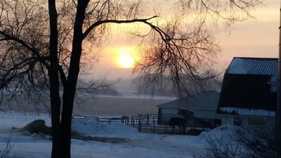 winter calm