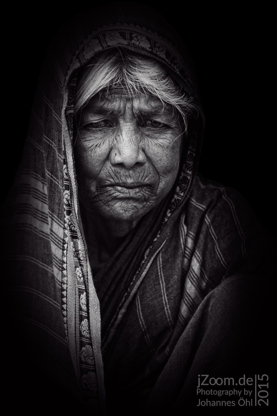 Dignity by johannesoehl - Everything In Black And White Photo Contest