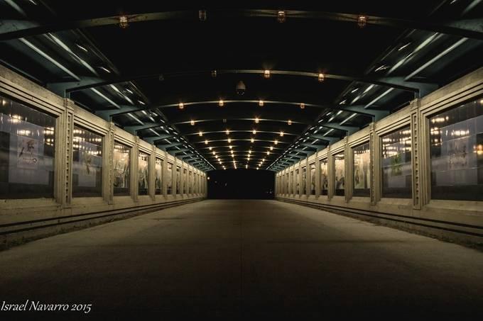Melancholy Stroll by israelnavarro - Shooting Tunnels Photo Contest