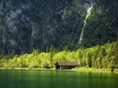Boathouse Scenery