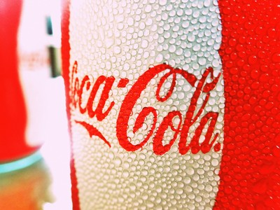 Summertime Coca Cola