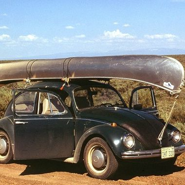 My old Bug and boat   great trips together  Near Lake Malheur NWR SE Oregon  USA