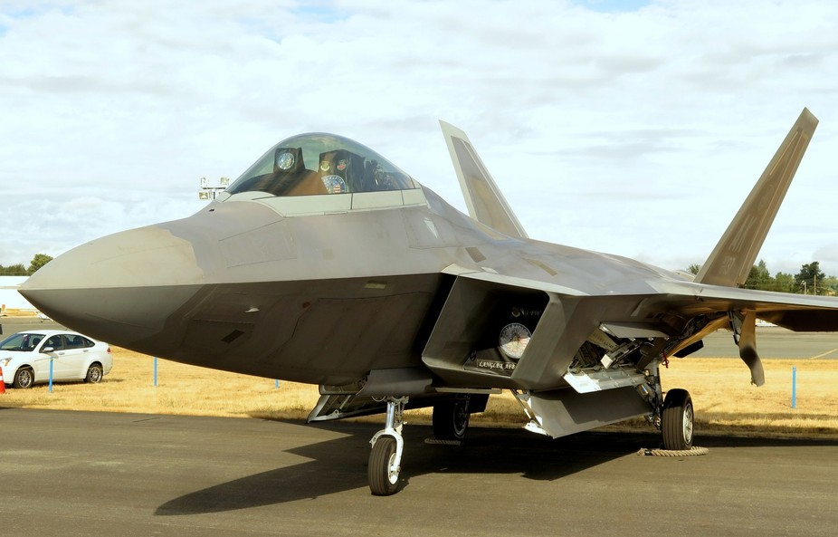 F-22 Raptor makes its first appearance at the 2015 Abbotsford International Airshow