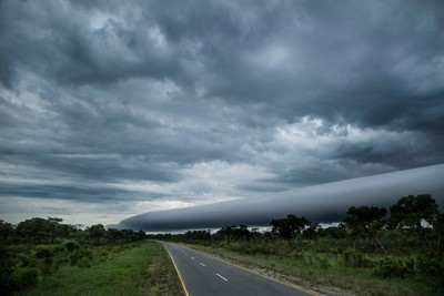 Namibia - Stormy weather