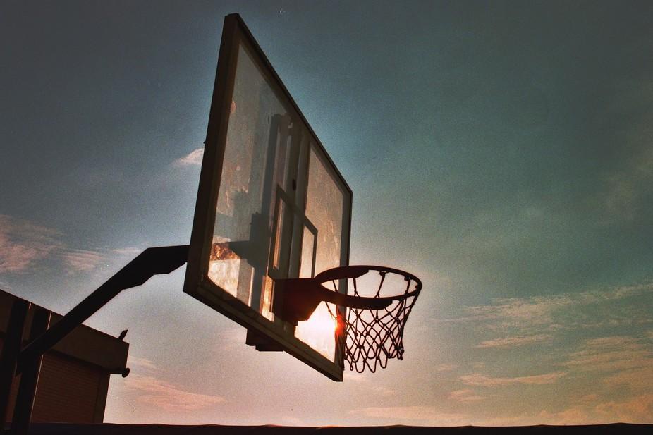 Basketball cours in México - October 2014 Film 400ASA