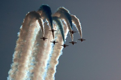 RAF Display Team - The Red Arrows