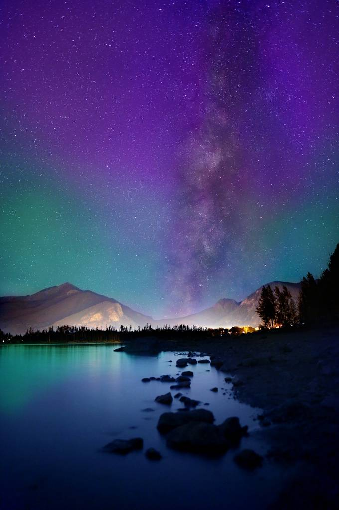 Milky Way Mountains by ReidCollins - Image of the Year Photo Contest by Snapfish