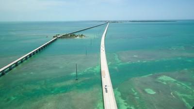 Seven Mile Bridge Aerial