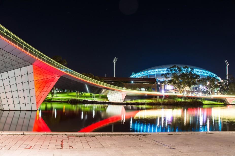 Adelaide Oval & River Torrens, South Australia