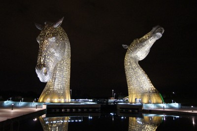 Kelpies, Falkirk, Scotland