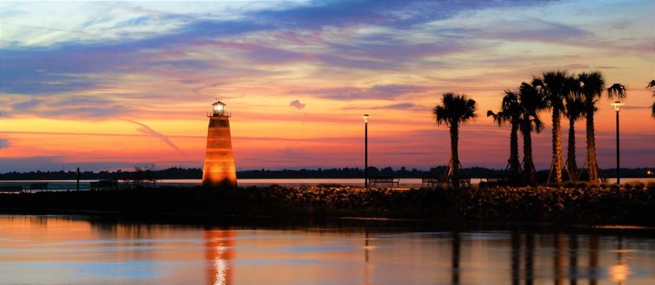 Lake Toho, Kissimmee, FL. USA