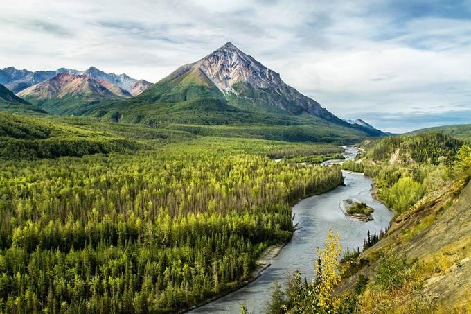 Matanuska River by ManuKeggenhoff - Streams In Nature Photo Contest