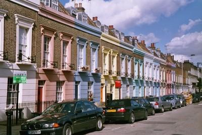 A Street in Camden Town, London