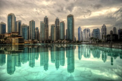 Burj Khalifa Lake, Dubai, UAE
