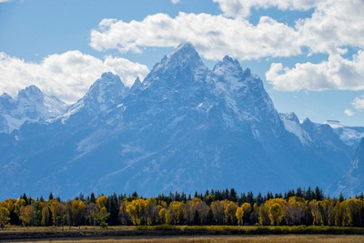 Grand Teton's First Snow