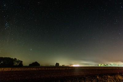 Harvesting Under the Stars