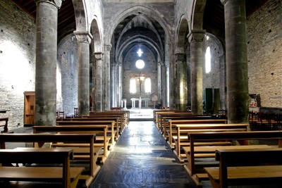 Basilica dei Fieschi, 1244. Italy.