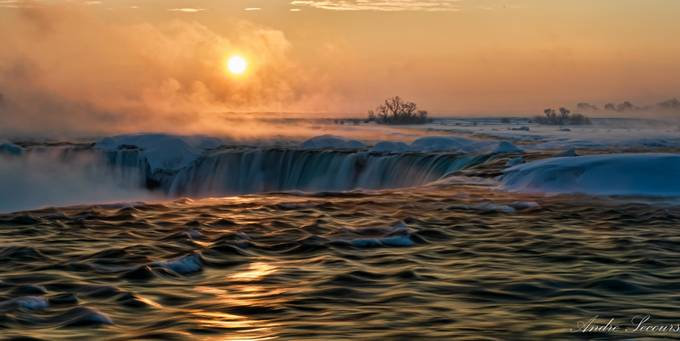 Niagara Falls by AndreSecours - The Four Elements Photo Contest