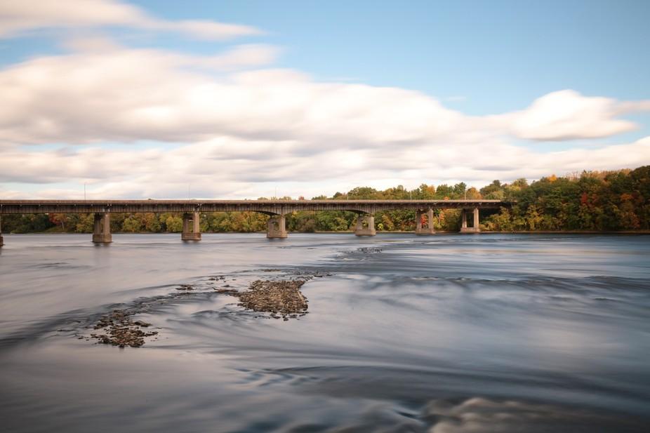 Suffield bridge over the Ct. river.