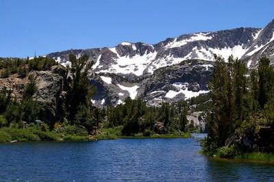Bishop Alpine lake