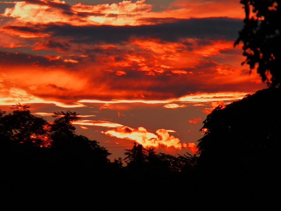 A fall sunrise in Southern California