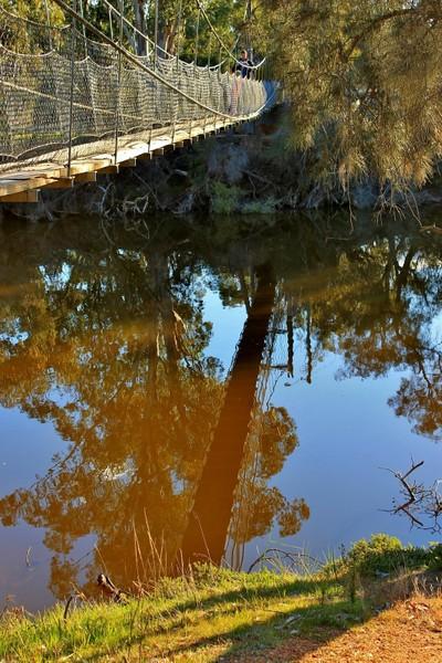 Swinging Bridge at York