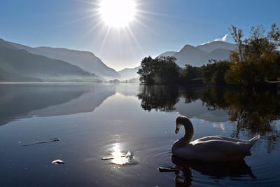 Early morning..Llyn Padarn.