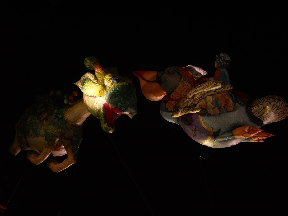 "International Theatre Festival 2015 in Sibiu (Romania) Performence of ""Plasticiens Volan..."