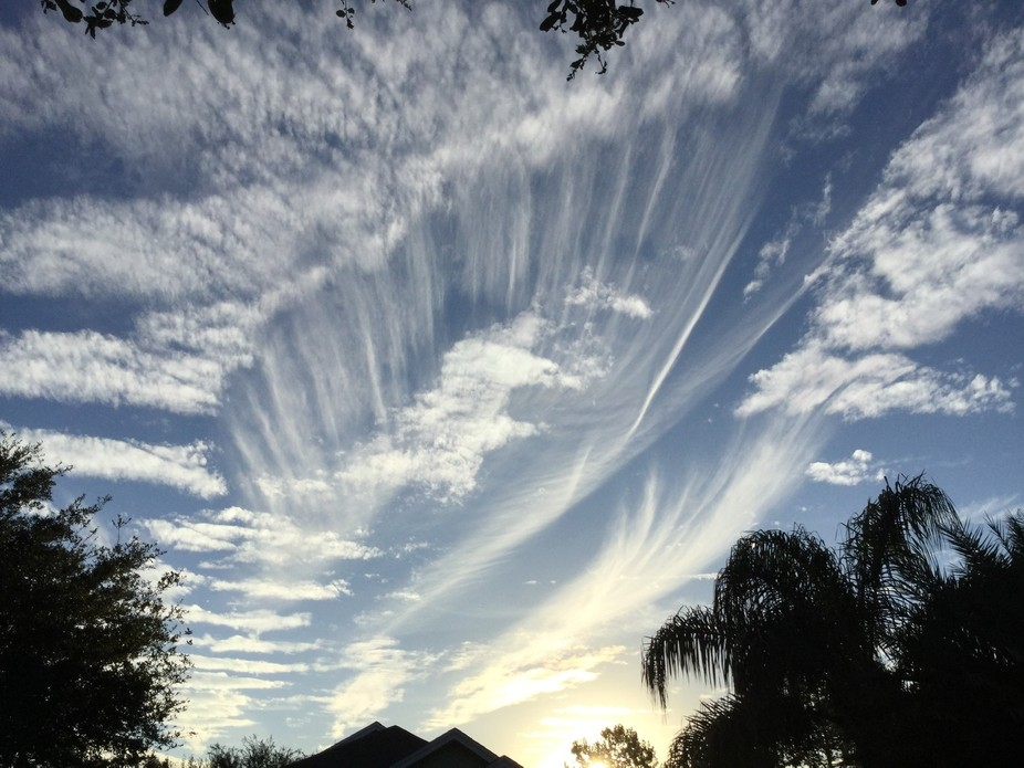 Cloud movements just a day before Nor'Easter to affect our area- to see it in person was...
