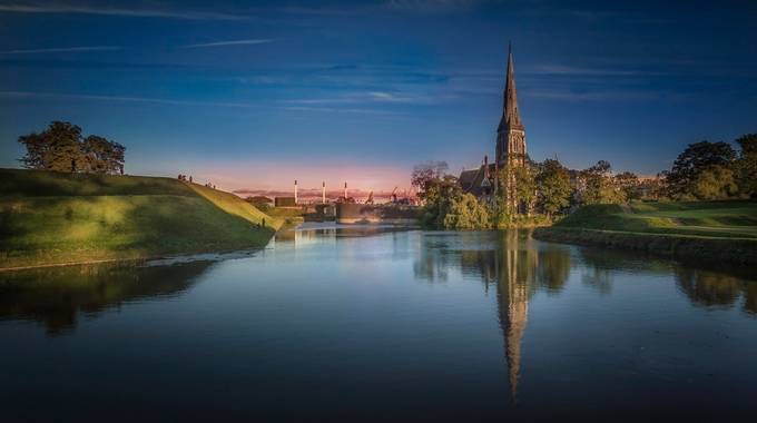 St. Alban's and the Moat by olesteffensen - Lakes And Reflections Photo Contest