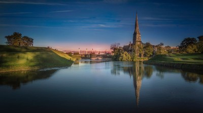 St. Alban's and the Moat