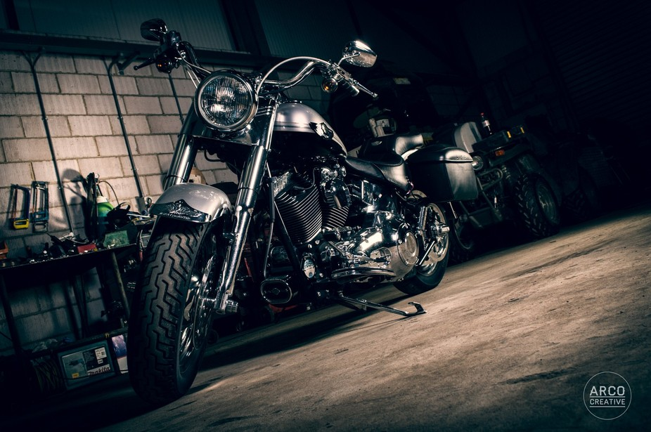 Great motorbike used on our shoot in Alton, Hampshire.