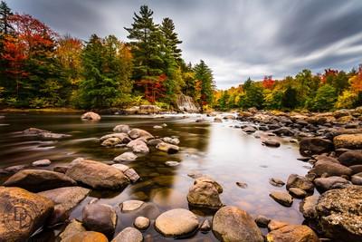 Moose River fall