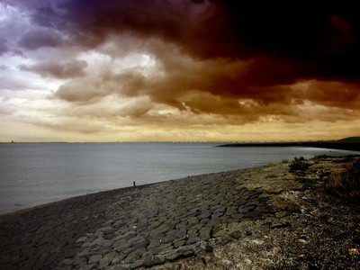 Zeeland - dark clouds