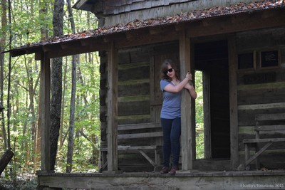 Beauty and an old Cabin