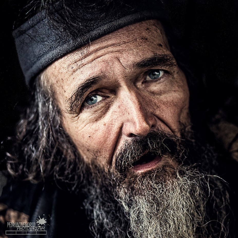 """It was Mark, now it is Philipe.I would rather give up my name than my life"" by pedrontheworld - Street Portraits Photo Contest"