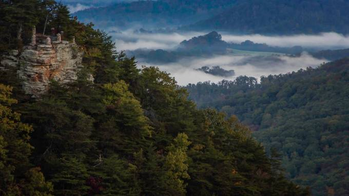 Misty Morning Canyon by LeeEndStar - Secret Canyons Photo Contest