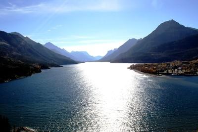 Waterton Lake National Park Alberta