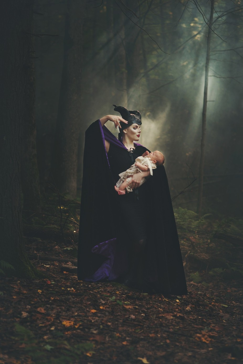 Casting the spell (Maleficent)  by Andreamartinphoto - Fairytale Moments Photo Contest