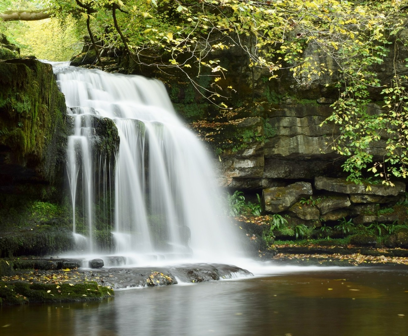West Burton Waterfall, Wenslydale