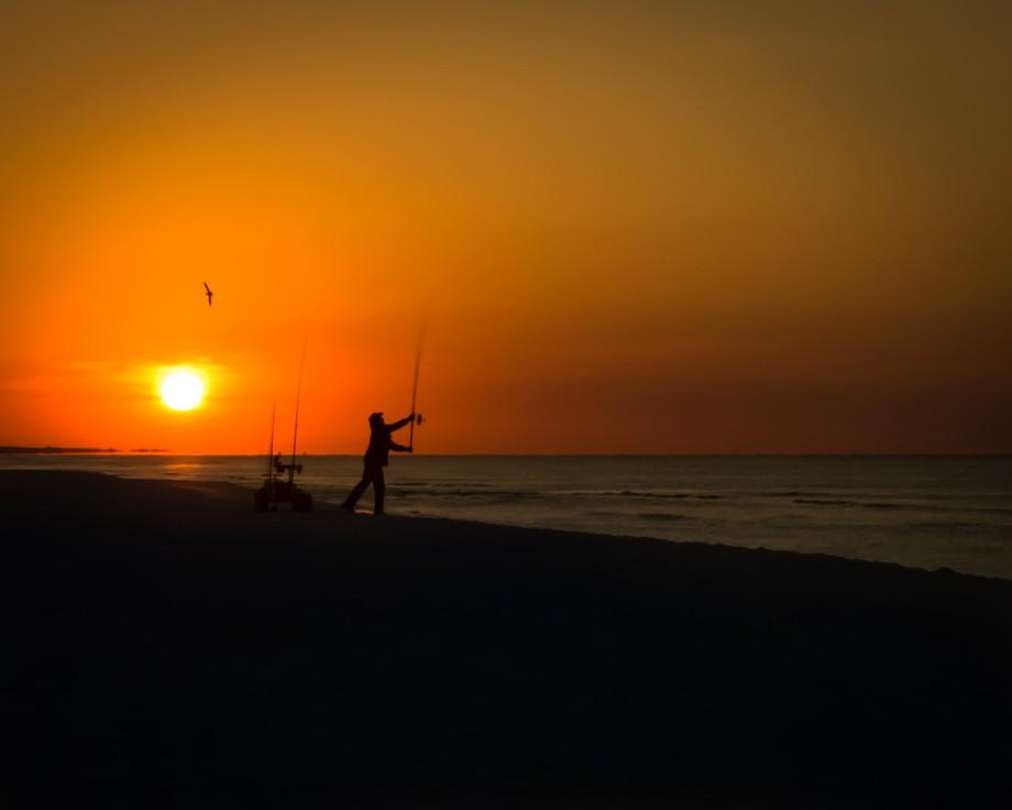 Early Morning on Henderson National Park Destin Florida