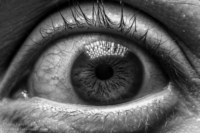I Can´t See You by gabrielfox - Selfies In Black and White Photo Contest