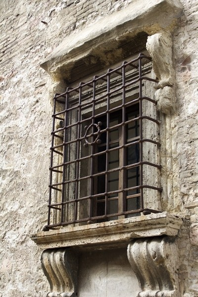 Ancient Window and Bars