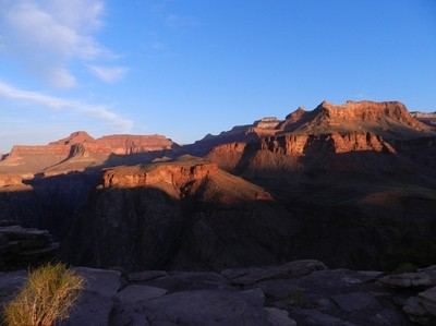 Sunrise from Plateau Point