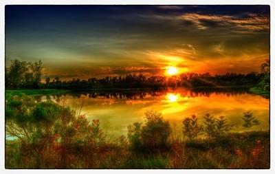 Sunset at Da Culvert