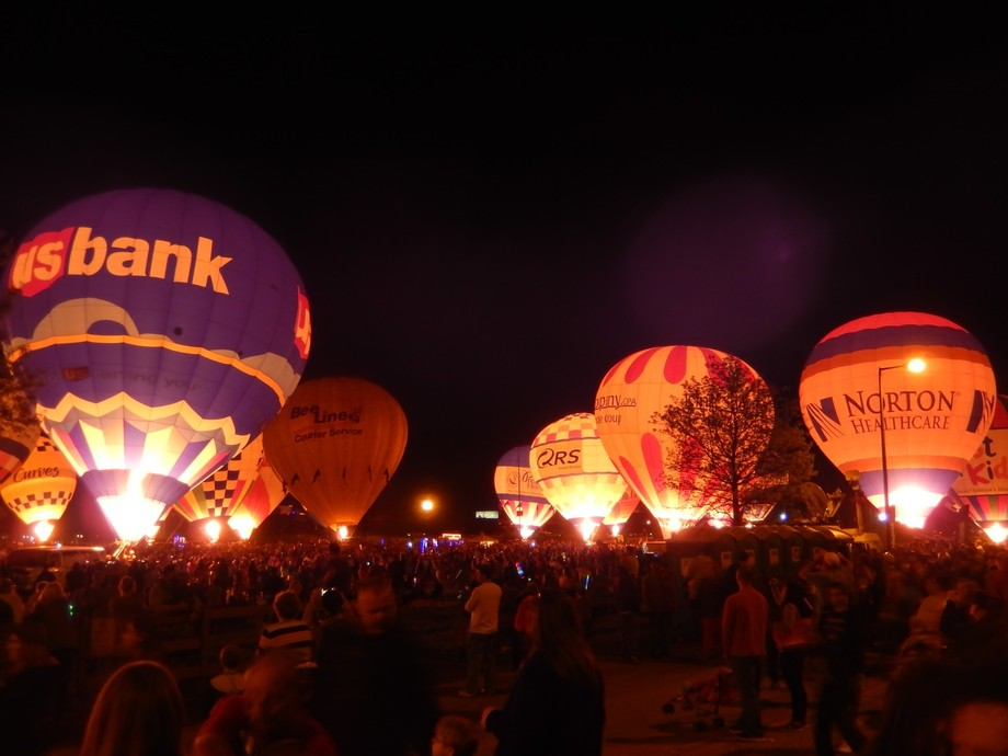 How wonderful and delightful to see all the Children with smiles on their faces when the Balloon ...