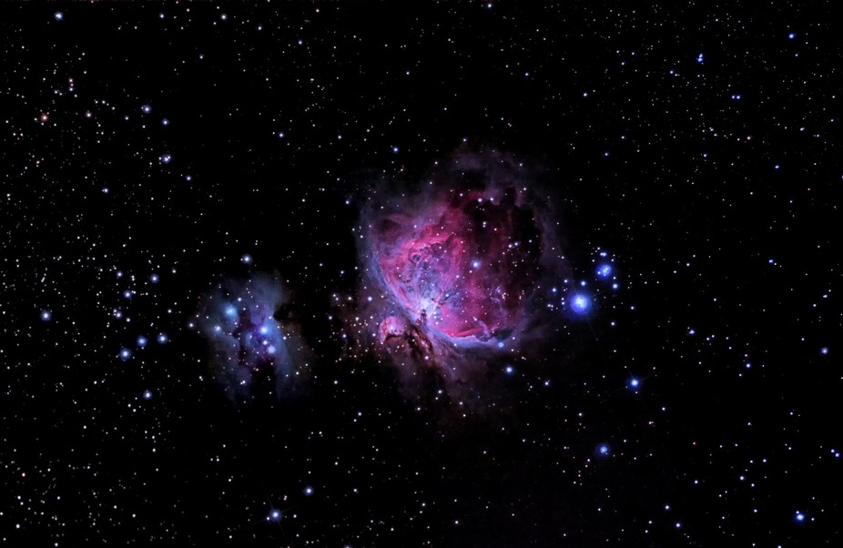 The Great Orion Nebula (Messier 42) Canon 40d ir-cut + Canon 300mm f/4L IS USM