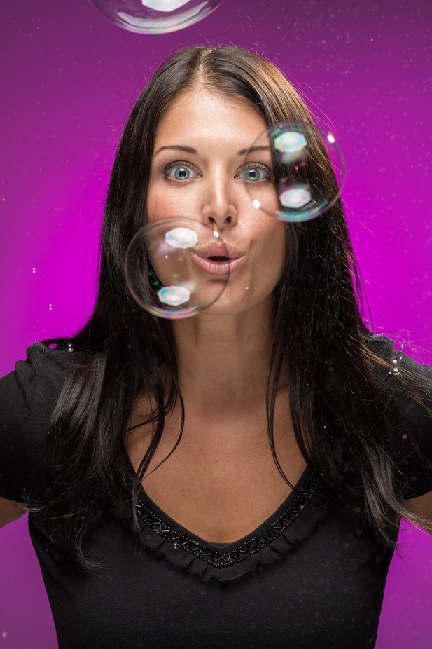C. Bubbles by jonwolding - Bubbles Photo Contest