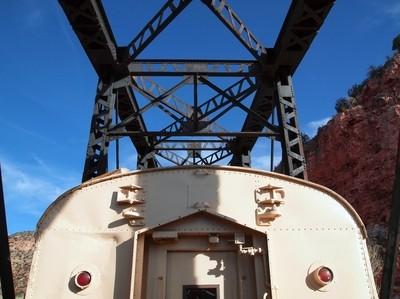 Bridge Trestle & Train